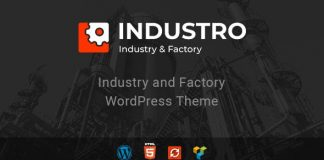 Industro v1.0.6.2 - Industry & Factory WordPress Theme
