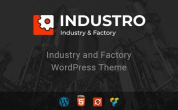 Industro v1.0.6.2 - Industry & Factory WordPress Theme