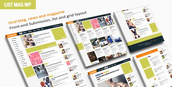 List Mag WP v2.8 - A Responsive WordPress Blog Theme