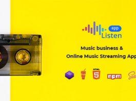 Listen v1.1.0 - Online Music Streaming App