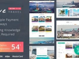 Love Travel v3.4 - Creative Travel Agency WordPress