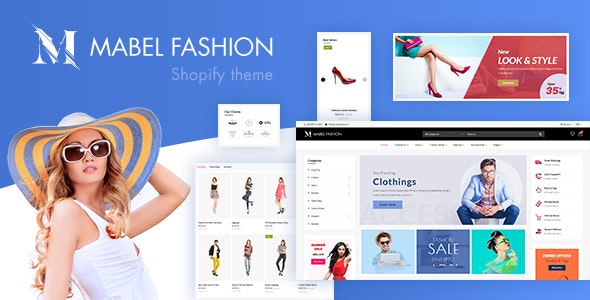 Mabel v1.0 - Fashion Shopify Theme with Mega Menu