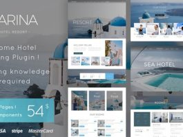Marina v1.3 - Hotel & Resort WordPress Theme