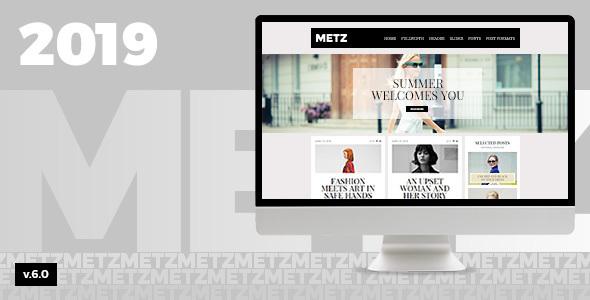 Metz v7.0 - A Fashioned Editorial Magazine Theme