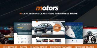 Motors v4.6.4.2 - Automotive, Cars, Vehicle, Boat Dealership