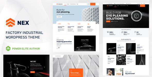 Nex v5.2 - Factory & Industrial WordPress