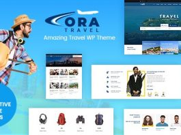 Ora v1.2 - Tour, Travel Booking Theme