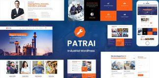 Patrai Industry v1.3 - Industrial WordPress