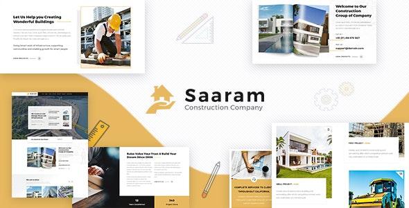 Saaram v1.2 - Architect WordPress