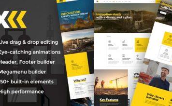 Samatex v1.6 - Industrial WordPress Theme + Woocommerce