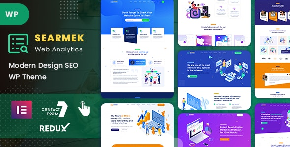 Searmek v1.0 - SEO and Marketing WordPress Theme