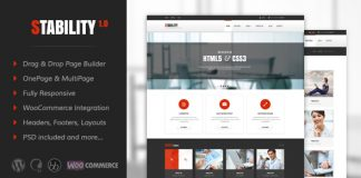 Stability v3.3 - Responsive MultiPurpose WordPress Theme