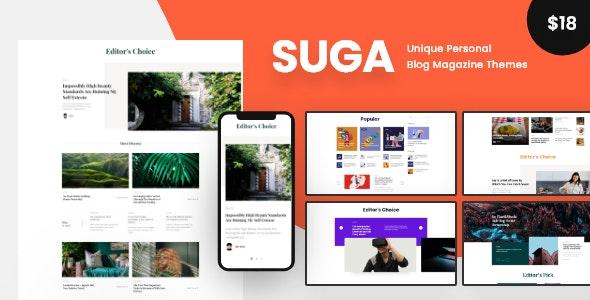 Suga v1.2 - Magazine and Blog WordPress Theme