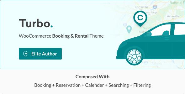 Turbo v6.0.3 - Car Rental System WordPress Theme