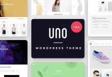 UNO v1.0.5 - Multi Store Responsive WordPress Theme