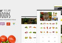 Vegan Food v5.2.10 - Organic Store, Farm Responsive Theme