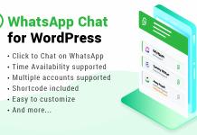 WhatsApp Chat WordPress v2.2.2