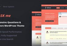 Ask Me v6.1 - Responsive Questions & Answers WordPress