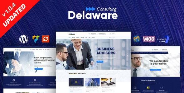 advisor consulting business finance wordpress theme free download