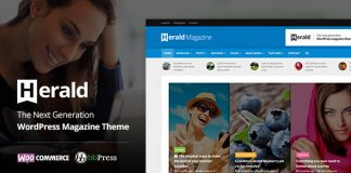 Herald v2.2.4 - News Portal & Magazine WordPress Theme