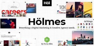 Holmes v1.2 - Digital Agency Theme