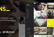 LENS v2.5.3 - An Enjoyable Photography WordPress Theme