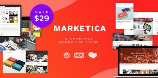 Marketica v4.6.2 - Marketplace WordPress Theme