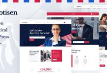 Potisen v1.0 - Election & Political WordPress Theme