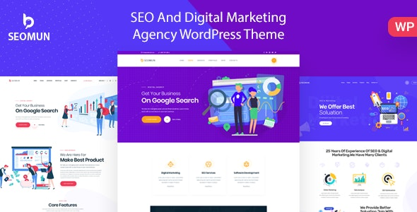 Seomun v1.0.3 - Digital Agency & Marketing WordPress