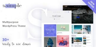 The Simple v2.3.3 - Business WordPress Theme