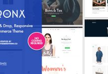 Bronx v2.0.8.3 - Responsive Drag & Drop WooCommerce Theme