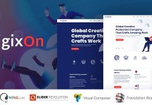 Digixon v1.5 - Digital Marketing Strategy Consulting WP Theme