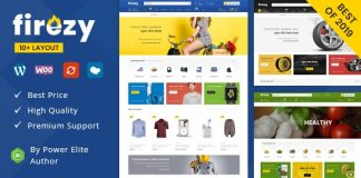 Firezy - Multipurpose WooCommerce Theme (7 February 2020)