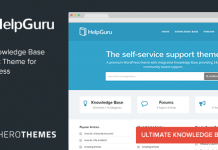 HelpGuru v1.7.2 - A Self-Service Knowledge Base Theme