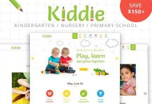 Kiddie v4.1.7 - Kindergarten and Preschool WordPress Theme