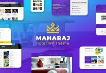 Maharaj Tour v1.9 - Hotel, Tour, Holiday Theme