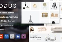 Modus v1.5.5 - Modern Furniture WooCommerce Theme