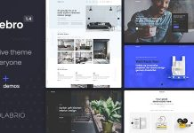 Norebro v1.4.8 - Creative Multipurpose WordPress Theme