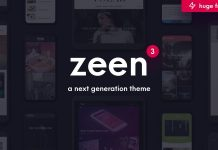 Zeen v3.5.0 - Next Generation Magazine WordPress