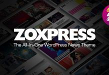 ZoxPress v1.01.0 - All-In-One WordPress News Theme