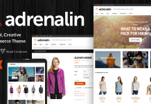 Adrenalin v2.0.7 - Multi-Purpose WooCommerce Theme