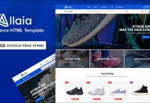 Allaia v1.0 - eCommerce HTML Template
