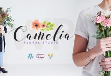 Camelia v1.2.4 - A Floral Studio WordPress Theme