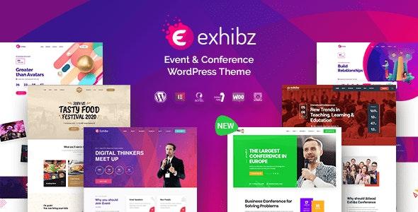 Exhibz v2.2.0 - Event Conference WordPress Theme