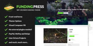 Fundingpress v5.2 - The Crowdfunding WordPress Theme