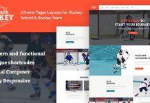 Let's Play v1.1.4 - Hockey School & Winter Sports WordPress Theme