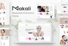 Makali v1.3.8 - Cosmetics & Beauty Theme for WooCommerce WordPress