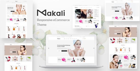 Makali v1.3.8 - Cosmetics & Beauty Theme for WooCommerce WordPress