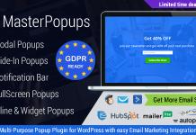 Master Popups v3.2.4 - Popup Plugin for Lead Generation