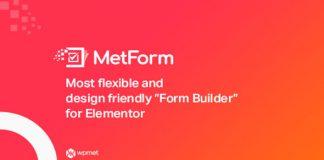 MetForm Pro v1.1.2 - Advanced Elementor Form Builder